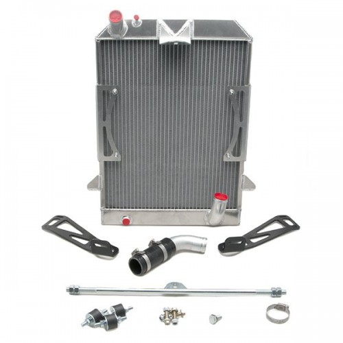Aluminium Performance Radiator For Morgan +4 and 4/4 2008 on image #1
