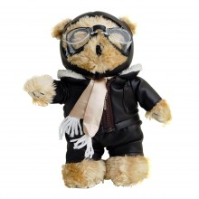Pilot Teddy Bear (10 in)