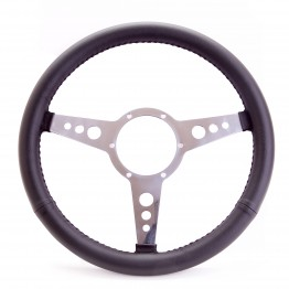 Traditional 14 Inch Leather Steering Wheel