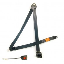 Inertia Reel Seat Belt - 4 Point Mounting - Long Stalk