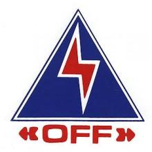 Electrical Cut-Off Sticker