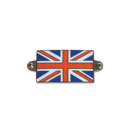 Union Jack Enamelled Badge