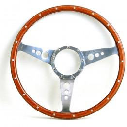 Mark 3 (Holes) 13in Wood Rim Steering Wheel - Dished