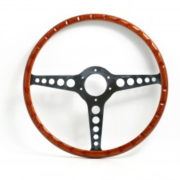Jaguar 'E' Type 15 in Wood Rim Steering Wheel