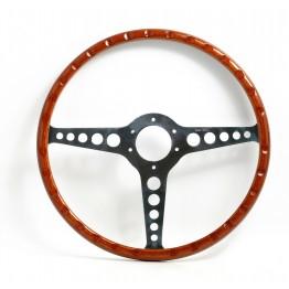 Jaguar 'E' Type 16 in Wood Rim Steering Wheel