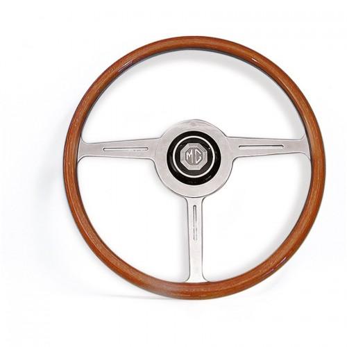 MGA 17 in Wood Rim Steering Wheel & Boss image #1