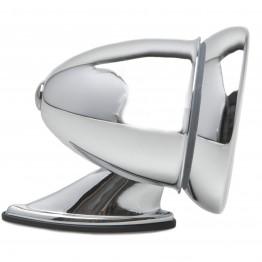 Chrome Racing Mirror - Flat Glass