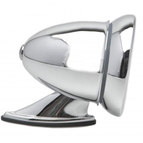 Chrome Racing Mirror - Flat Glass image #1