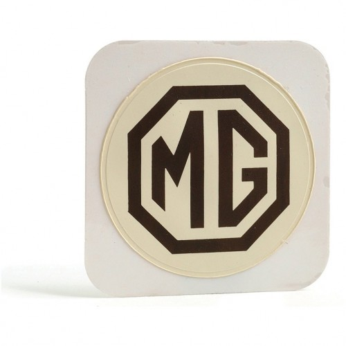 MG (Adhesive) Tax Disc Holder (Brown on Cream) image #1