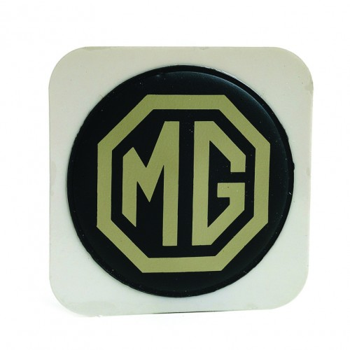 MG (Adhesive) Tax Disc Holder (Cream on Brown) image #1