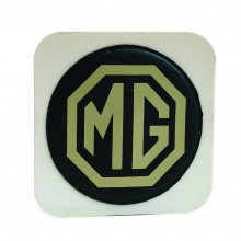 MG (Adhesive) Tax Disc Holder (Cream on Brown)