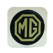 MG (Adhesive) Tax Disc Holder (Cream on Brown)