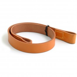 Leather Cross Strap - Tan