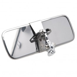 Rod Mounted Interior Mirror - Chrome