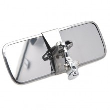 Rod Mounted Interior Mirror - Chrome