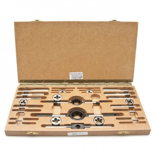 Metric Taps & Dies Set 24 Pieces image #1
