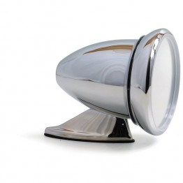 Chrome on Copper Racing Mirror - Convex Glass