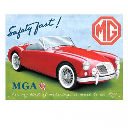 MGA Roadster Enamel Sign image #1