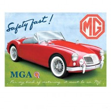 MGA Roadster Enamel Sign