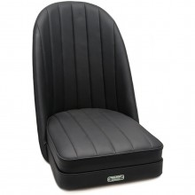 Sports Bucket Seat in Black PVC