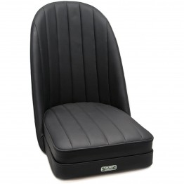 Sports Bucket Seat in black leather