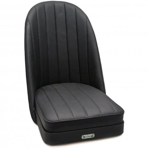 Sports Bucket Seat in black leather image #1
