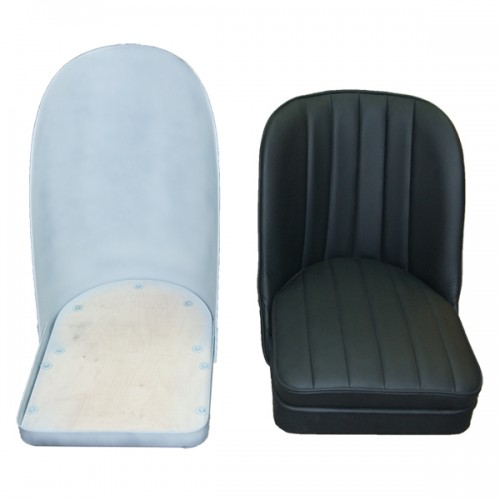 Sports Bucket Seat in black leather image #3