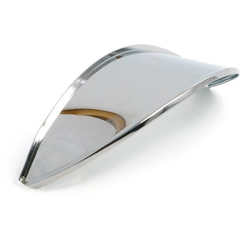 7 in Headlamp Visor Stainless Steel - Single image #1