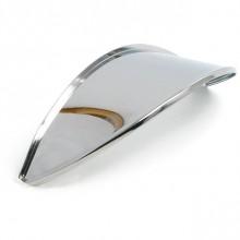 7 in Headlamp Visor Stainless Steel - Single