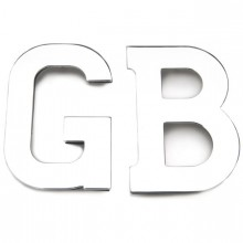 GB Letters Stud Fixing