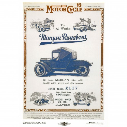 Morgan Runabout (All Weather) image #1