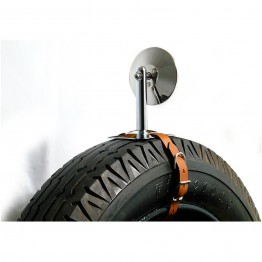 Spare Tyre Mounted Vintage Mirror