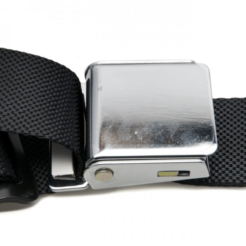 Classic Type Seat Belt 3 Point with Chromed Buckle image #4