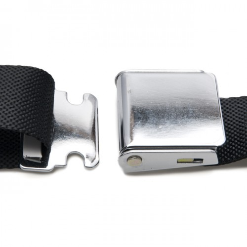 Classic Type Seat Belt 3 Point with Chromed Buckle image #3