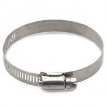 Stainless Steel Worm Drive Hose Clip 55-70mm