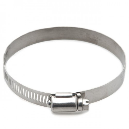 Stainless Steel Worm Drive Hose Clip 70-90mm image #1
