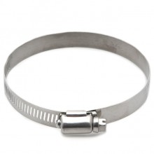 Stainless Steel Worm Drive Hose Clip 70-90mm
