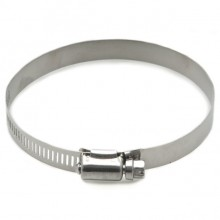 Stainless Steel Worm Drive Hose Clip 85-100mm