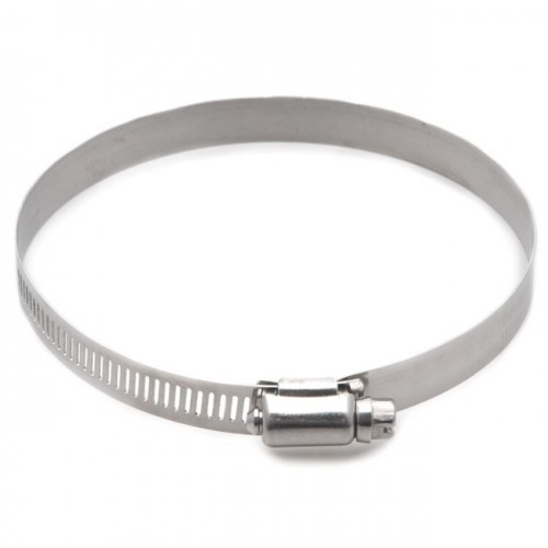 Stainless Steel Worm Drive Hose Clip 110-140mm image #1