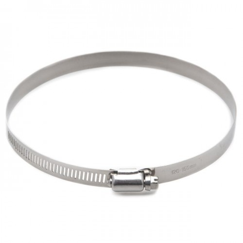 Stainless Steel Worm Drive Hose Clip 120-150mm image #1