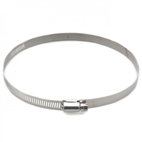 Stainless Steel Worm Drive Hose Clip 135-165mm image #1