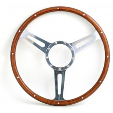 Derrington Slot 16in Wood Rim Steering Wheel