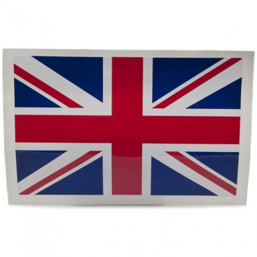 Union Jack Sticker (Large) image #1