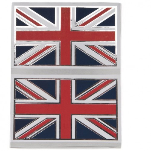 Union Jack Stickers (Small) Pair image #1