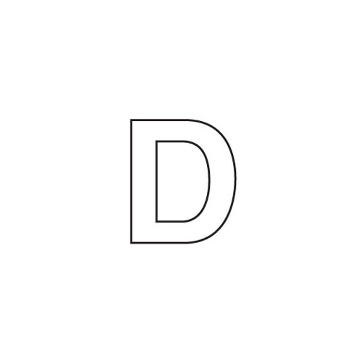 80mm Adhesive Registration D image #1