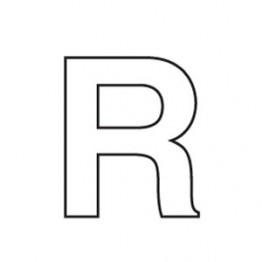 80mm Adhesive Registration R