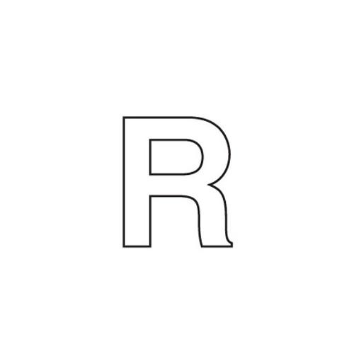 80mm Adhesive Registration R image #1