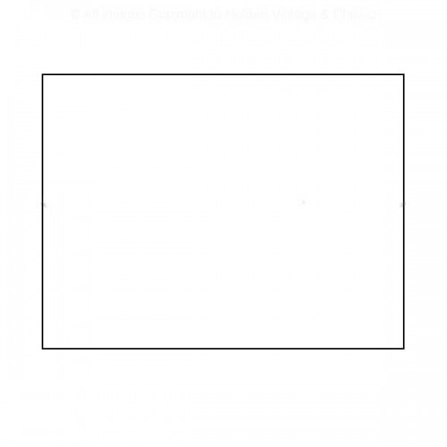 White Roundel 332mm X 610mm - Rectangular image #1