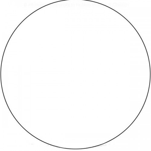White Roundel 18 inch - Round image #1