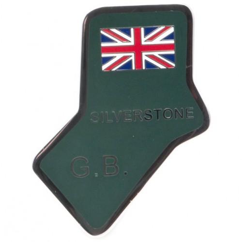 Silverstone Circuit Enamelled Badge image #1